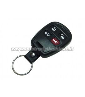 guscio 4 tasti per telecomando a distanza Hyundai/Kia