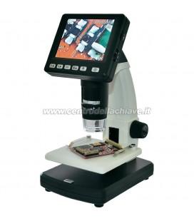microscopio digitale USB da 5 MPixel - ingrandimento da 20 a 500 x