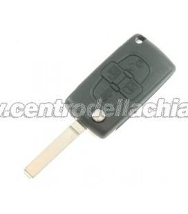 chiave/telecomando 4 tasti Peugeot 1007 - 649081 - 6554GQ