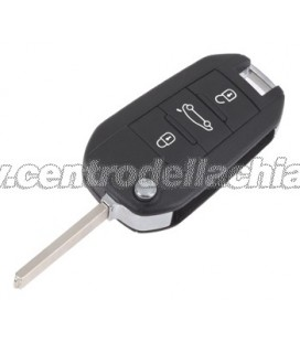chiave/telecomando 3 tasti Peugeot 508 -  6490RL - 6490RN