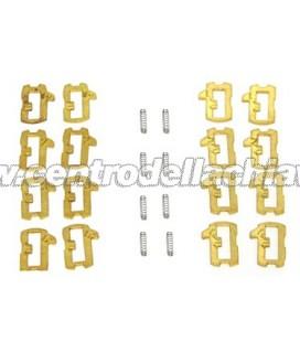 Lamelle di ricambio per serratura porta destra/sinistra Volkswagen/Audi/Seat/Skoda - HU66