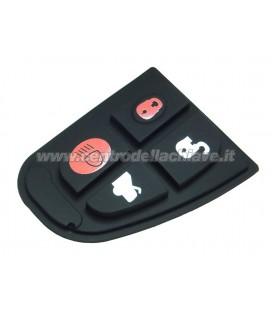 gommina 4 tasti per telecomando Jaguar