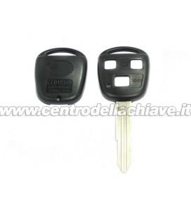 guscio telecomando Toyota 3 tasti - TOY41R