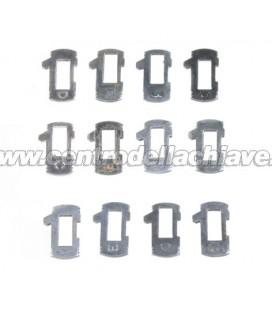 Lamelle di ricambio per serrature Fiat - GT15R