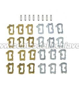 Lamelle di ricambio per serrature Opel-Chevrolet - HU100