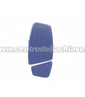 gommina nera 3 tasti (14.25 mm) per telecomando fiat/peugeot