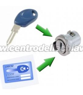 unificazione cilindro serratura- tipo 2