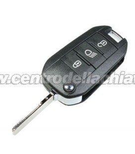 chiave/telecomando 3 tasti Peugeot 208/2008/308 - 1608504480 - 1608504380