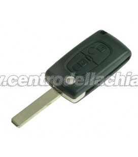 chiave/telecomando 2 tasti Peugeot 807/Expert - 649089 - 6554SG