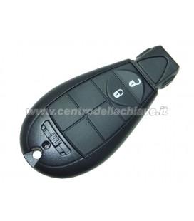 chiave/telecomando ad inserimento 2 tasti Dodge