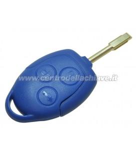 chiave/telecomando blu 3 tasti Ford originale senza logo
