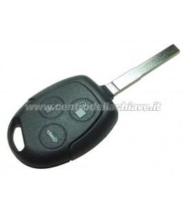 chiave/telecomando nero 3 tasti Ford non originale - HU101 - ID63