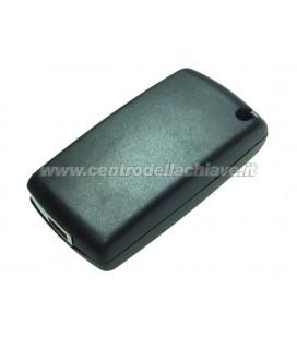 guscio 2 tasti chiave flip Citroen/Peugeot - senza lama chiave - batteria sul guscio