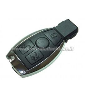 chiave/telecomando a slot 3 tasti Mercedez-Benz