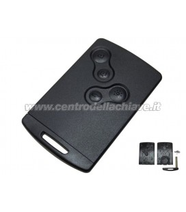 4 button card case for renault