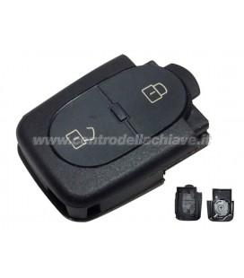 Guscio 2 tasti telecomando Audi A3/A4/A6
