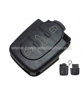 Guscio 3 tasti telecomando Audi (per pila CR1620)
