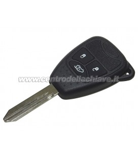 chiave/telecomando 3 tasti per Jeep/Chrysler/Dodge - 68003082AA, 68029835AB, 68217656AB