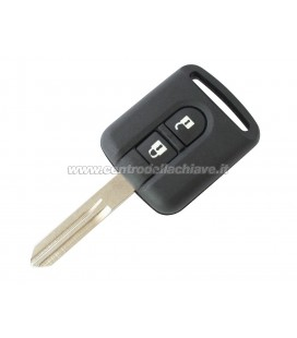 2 button remote case Nissan