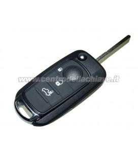 chiave con telecomando 4 tasti per Fiat Tipo/500X non originale