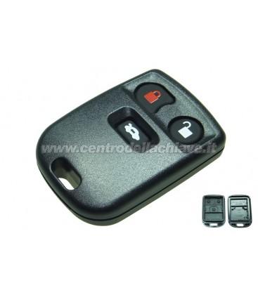 guscio telecomando Jaguar 3 tasti