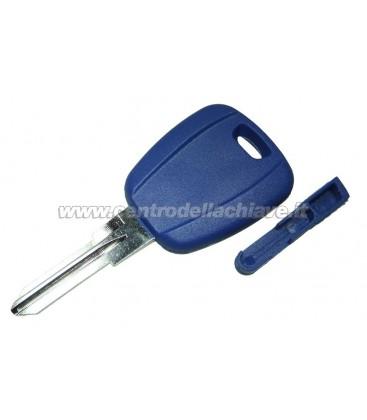 chiave Fiat non originale con portatrasponder nera SIP22