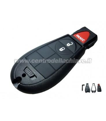 guscio ad inserimento 3  tasti per Jeep/Chrysler/Dodge/Lancia