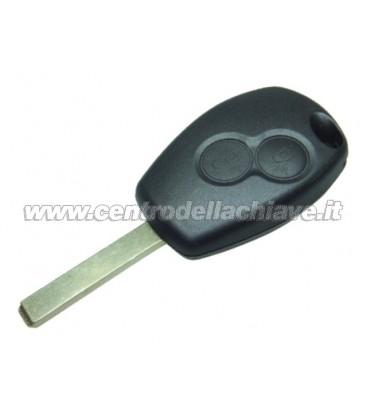 chiave/telecomando 2 tasti per Renault non originale
