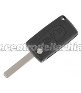 chiave/telecomando 2 tasti Citroen C2/C3 - 6554NR - 649086