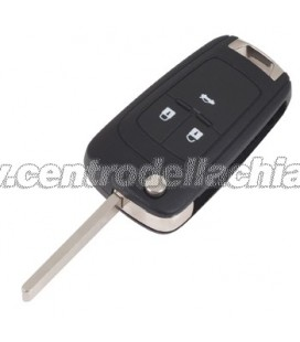 flip key/remote control 3 buttons Opel Astra J/Insignia - 139475