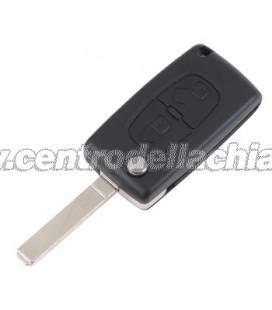 chiave/telecomando 2 tasti Citroen C3 A51/C4 II/DS3 - 6490FT - 6490FS
